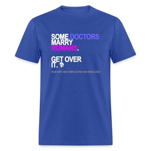 some doctors marry romans black shirt - Men's T-Shirt