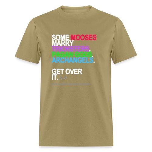 some mooses marry gods black shirt - Men's T-Shirt
