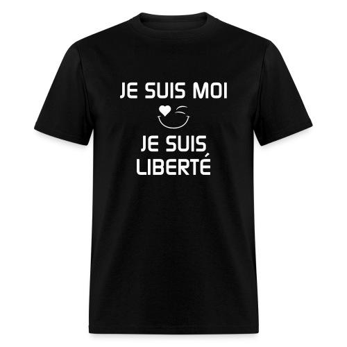 JeSuisMoiJeSuisLiberte - Men's T-Shirt