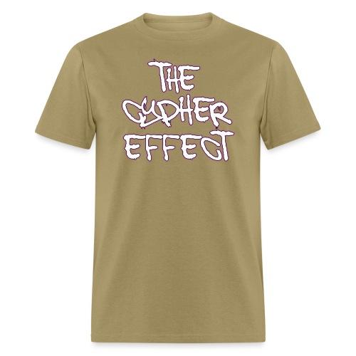 pink outline tce2 png - Men's T-Shirt