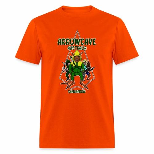 Arrow Cave Logo - Dark - Men's T-Shirt