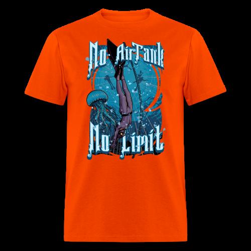 No Air Tank No Limit Freediving merchandise - Men's T-Shirt