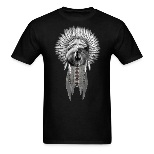 bearwolf png - Men's T-Shirt