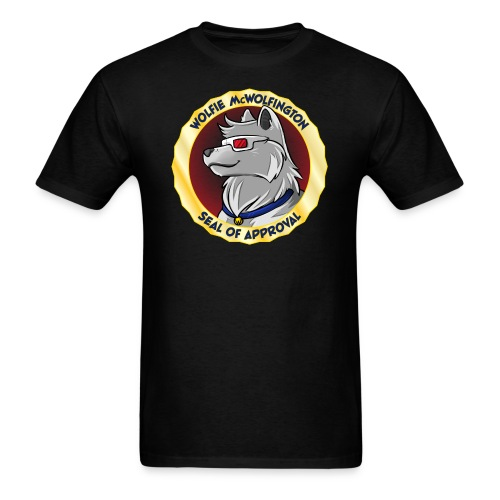 Wolfie Seal of Approval - Men's T-Shirt