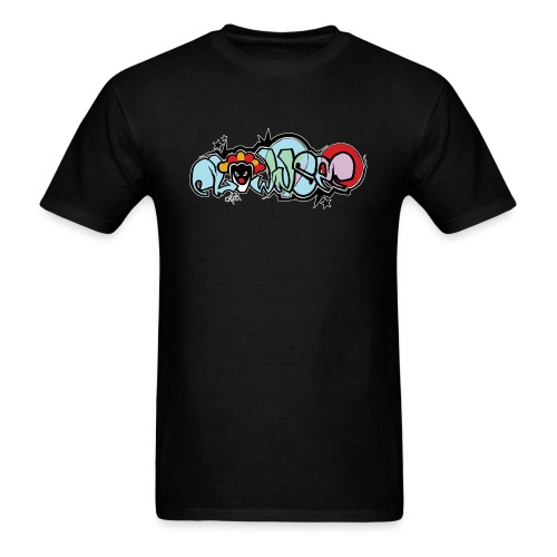 Graffiti Clownsec Dark Shirt PREMIUM - Men's T-Shirt