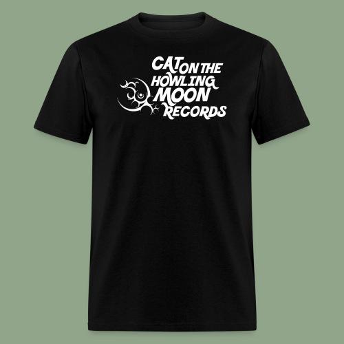 Cat on the Howling Moon logo (shirt) - Men's T-Shirt
