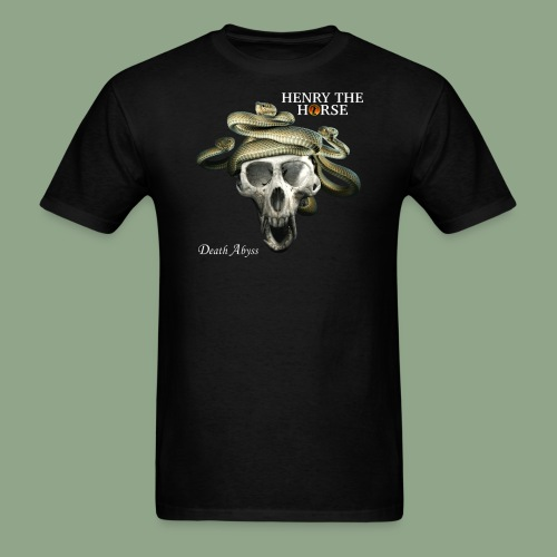 Henry the Horse - Death Abyss T-Shirt - Men's T-Shirt