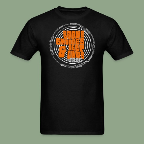 Stone Grooves Deep Cuts Spiral Logo T Shirt - Men's T-Shirt