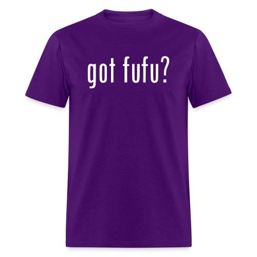 gotfufu-white - Men's T-Shirt