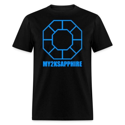 Unisex Blue Sapphire Hoodie - Men's T-Shirt