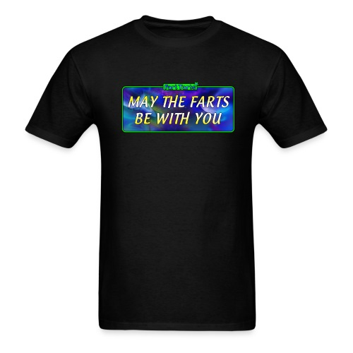 may the farts1 png - Men's T-Shirt