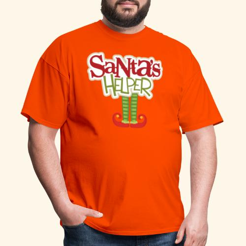 ELF FEET Santa's Helper Christmas tee - Men's T-Shirt