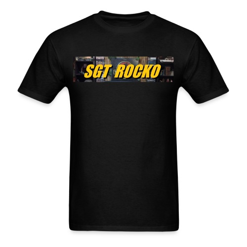 RockoWear Banner - Men's T-Shirt