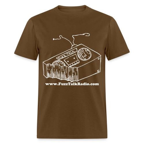 FTRLogoWhiteAddress - Men's T-Shirt