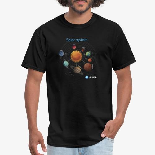 Solar System Scope : Solar System - Men's T-Shirt