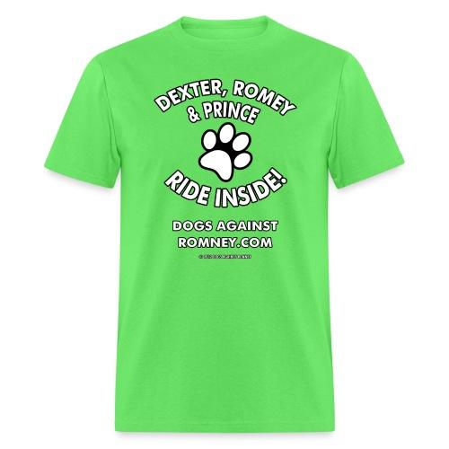 dexterromeyprince m - Men's T-Shirt