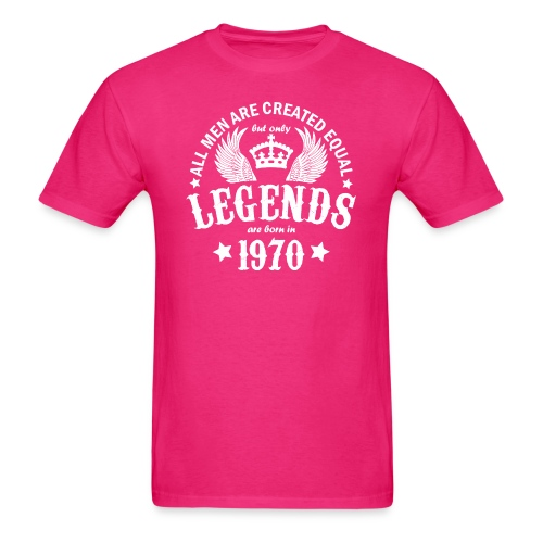 Only Legends are Born in 1970 - Men's T-Shirt