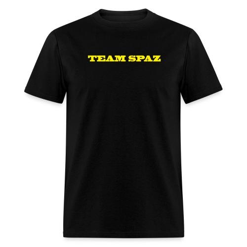 team spaz words - Men's T-Shirt