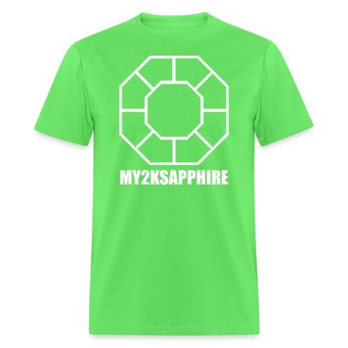 Unisex White Sapphire Hoodie - Men's T-Shirt