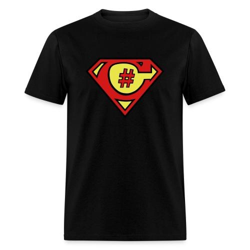 C# Hero Woman - Men's T-Shirt
