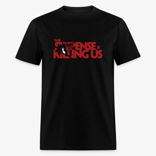 Suspsense Is Killing Us Blood Red Logo - Men's T-Shirt