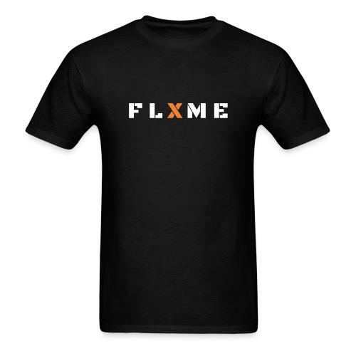 White FLXME - Men's T-Shirt