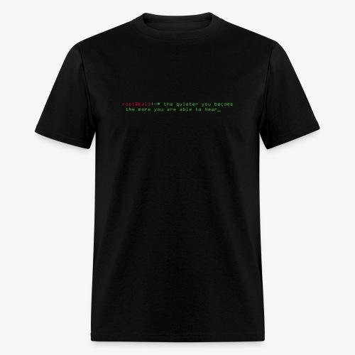 Kali Terminal Slogan - Men's T-Shirt