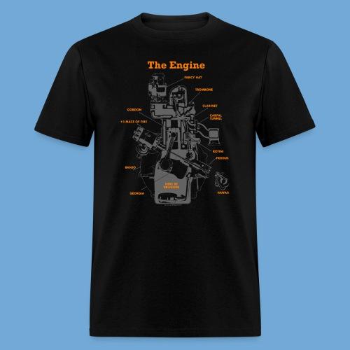 Engine Diagram - Men's T-Shirt