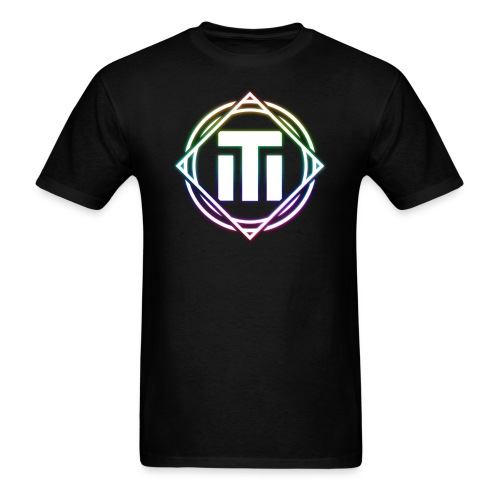 rainbow logo - Men's T-Shirt