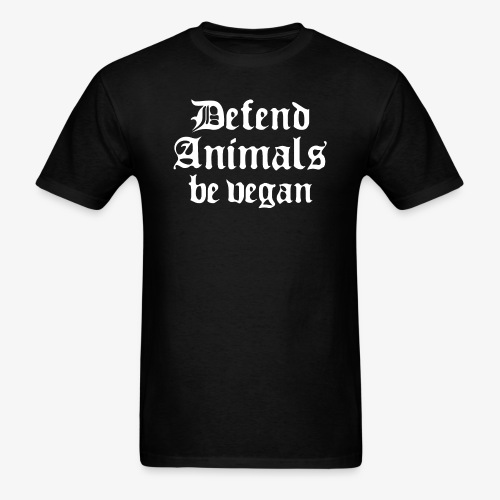 Defend Animals - Men's T-Shirt