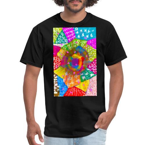 Patchwork - Men's T-Shirt