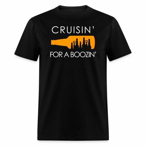 Crusin' For A Boozin' T-Shirt - Men's T-Shirt