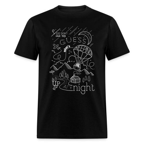 Up at Night Design - Men's T-Shirt