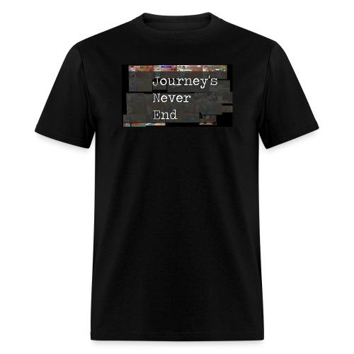 Journey's Never End Black T-shirt - Men's T-Shirt