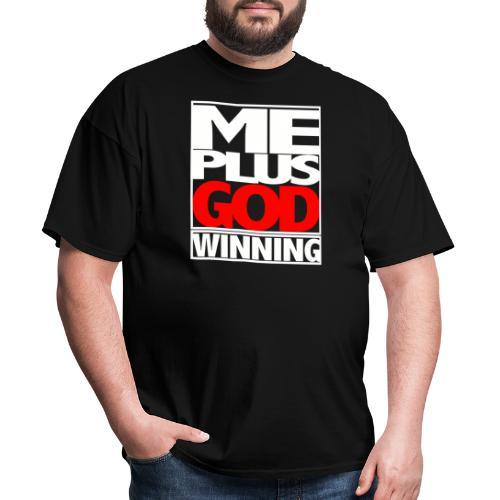 ME GOD WIN WHT - Men's T-Shirt