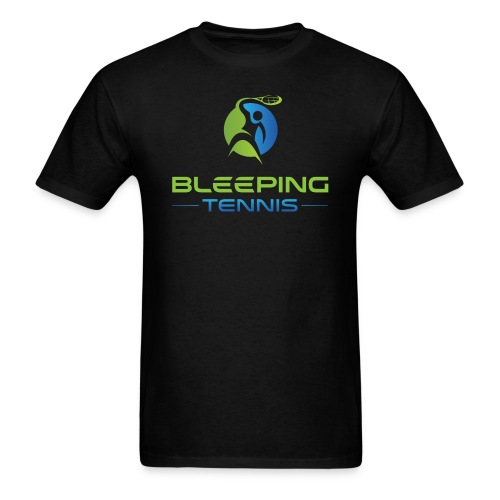 Bleeping Tennis - Men's T-Shirt