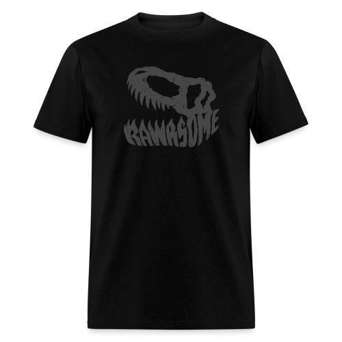 RAWRsome T Rex Skull by Beanie Draws - Men's T-Shirt