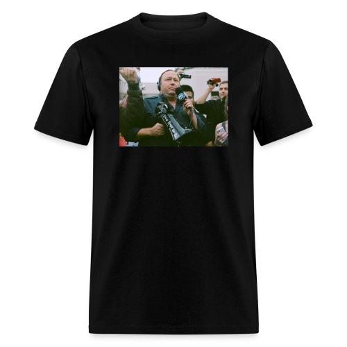 Say NO to Alex Jones Censorship - Men's T-Shirt