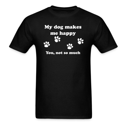 dog_happy - Men's T-Shirt