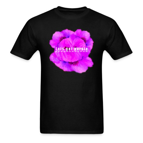 lets_get_purple_2 - Men's T-Shirt