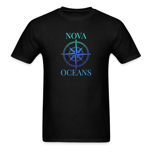 logo_nova_oceans - Men's T-Shirt