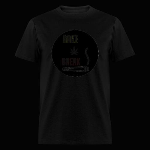 Bake Break Logo Cutout - Men's T-Shirt