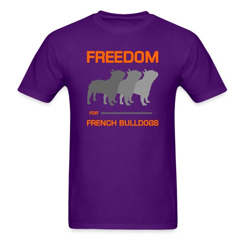 French Bulldogs - Men's T-Shirt