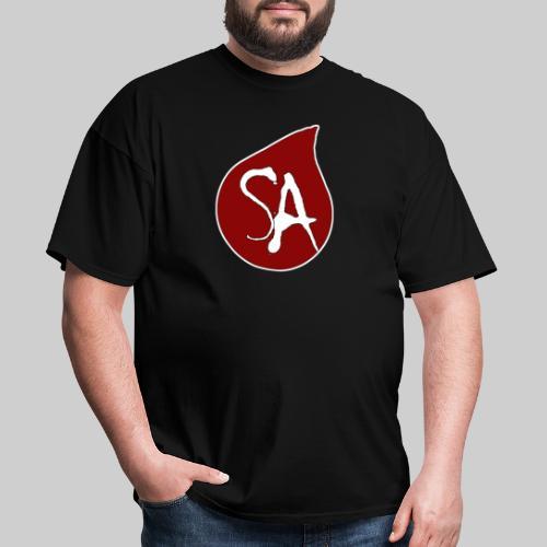 Shadow Armada Tear Drop Logo - Men's T-Shirt