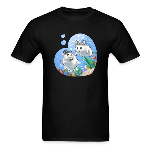 A Fishie Wedding - Men's T-Shirt