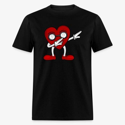 Women's T-Shirt Dabbing Heart - Men's T-Shirt