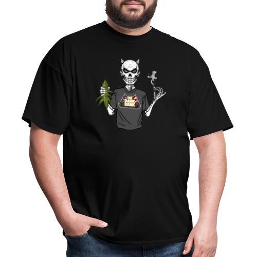 Wyt Devil's Lettuce - Devil Skelton - Men's T-Shirt