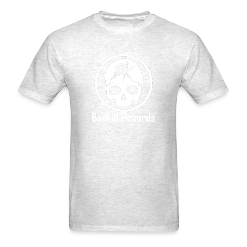 Badkill Logo White - Men's T-Shirt