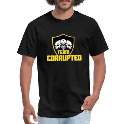 Team Corrupted Logo - Men's T-Shirt