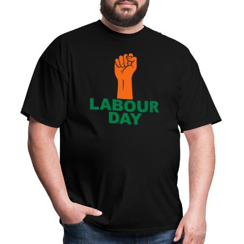 Labour day / Fist / 2c - Men's T-Shirt